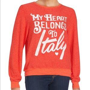 Wildfox • My Heart Belongs To Italy Sweatshirt